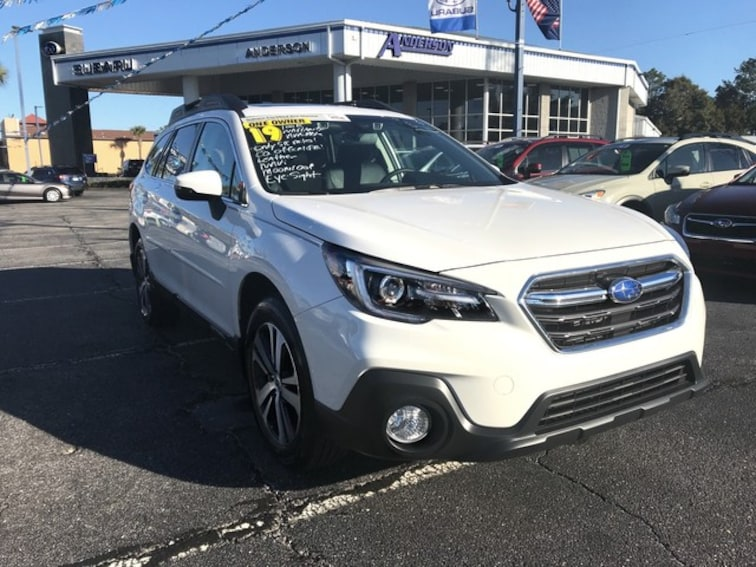 Certified 2019 Subaru Outback Limited SUV Pensacola, FL