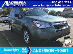 Certified Pre-Owned 2015 Subaru Forester 2.5i SUV JF2SJABC1FH815936 for Sale in Pensacola