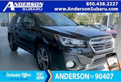 New 2018 Subaru Outback 2.5i Limited with EyeSight, Navigation, High Beam Assist, Reverse Auto Braking, LED Headlights, Steering Responsive Headlights, and Starlink SUV for sale in Pensacola, FL
