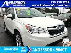 Certified Pre-Owned 2015 Subaru Forester 2.5i Premium SUV JF2SJAFC8FH585788 for Sale in Pensacola