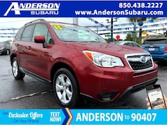 Certified Pre-Owned 2015 Subaru Forester 2.5i Premium SUV JF2SJADC5FH597481 for Sale in Pensacola