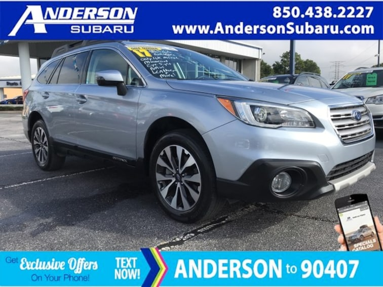 Certified 2017 Subaru Outback Limited SUV Pensacola, FL