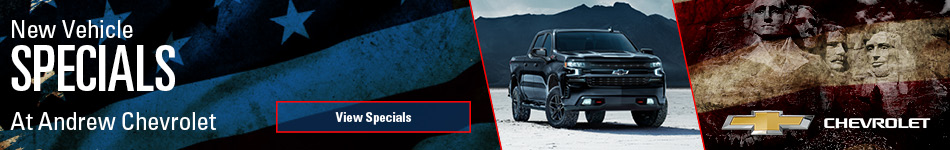 New Vehicle Specials - February 2021