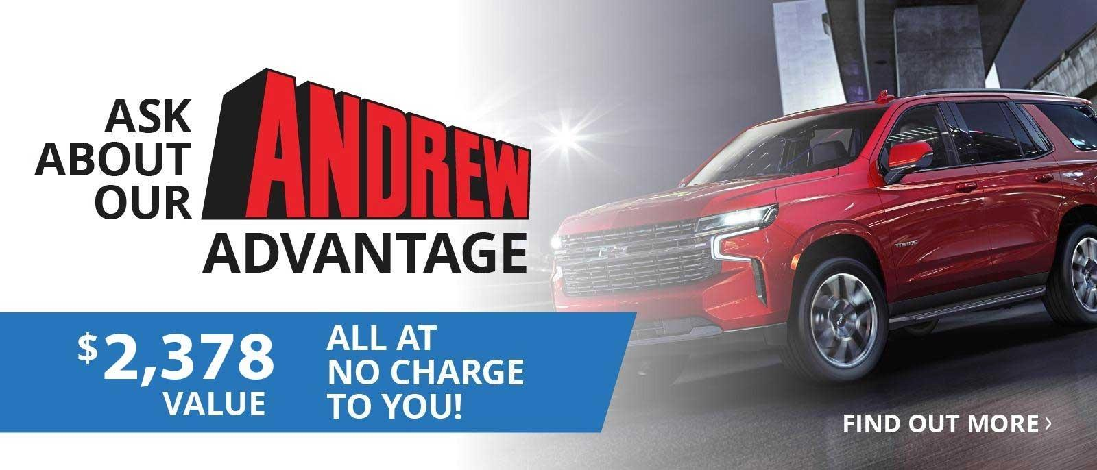 Andrew Chevrolet In Glendale Wi New And Used Chevrolet Dealer