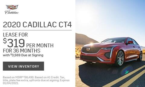 2020 Cadillac CT4 Lease - November