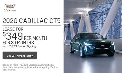 2020 Cadillac CT5 Lease - Nov