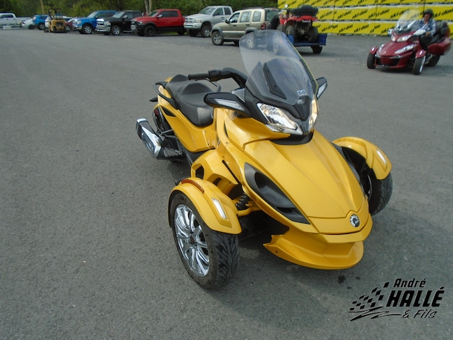 2013 CAN-AM Spyder ST-S SM5 -