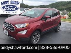 Used 2018 Ford EcoSport Titanium SUV for sale in Sylva, NC