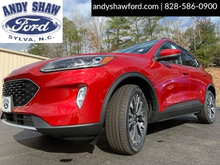 Featured New 2020 Ford Escape Titanium SUV for Sale in Sylva, NC
