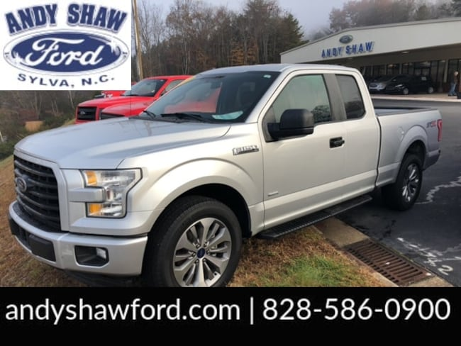 Used 2017 Ford F-150 XL Truck SuperCab Styleside for sale in Sylva, NC
