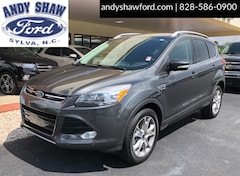 Used Ford Vehicles 2016 Ford Escape Titanium SUV 4WD for sale in Sylva, NC