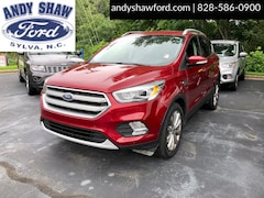 Used Ford Vehicles 2017 Ford Escape Titanium 4WD SUV for sale in Sylva, NC