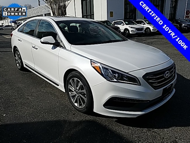 Certified pre-owned Hyundai 2016 Hyundai Sonata Sport Sedan [] For sale near you in Annapolis, MD