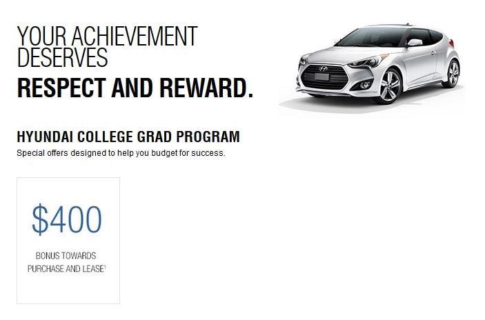 Hyundai College Grad Program. As ...