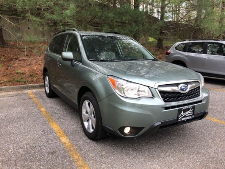 Used 2015 Subaru Forester 2.5i Limited SUV in Annapolis, MD