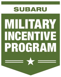 Image result for subaru military incentive