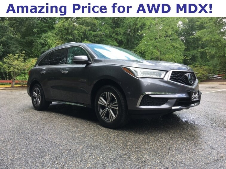 Used 2017 Acura Mdx 35l For Sale Annapolis Md Vin
