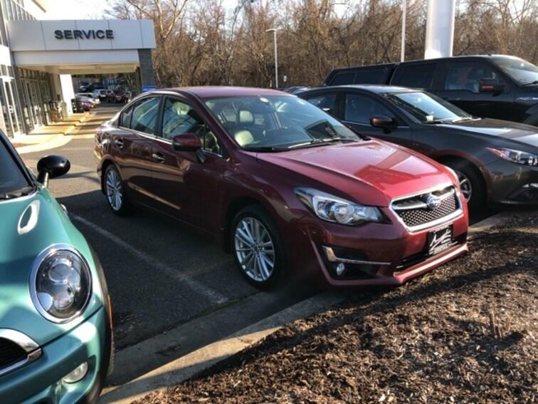 Certified Pre-Owned 2015 Subaru Impreza 2.0i Limited Sedan For Sale Annapolis, MD