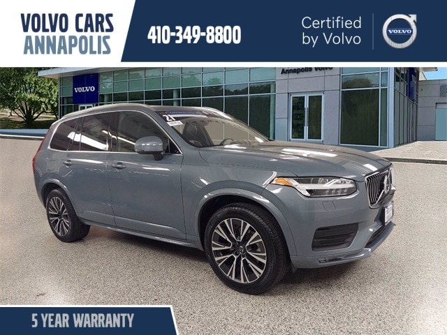 featured used 2021 Volvo XC90 T6 Momentum 7 Passenger SUV for sale in Annapolis, MD