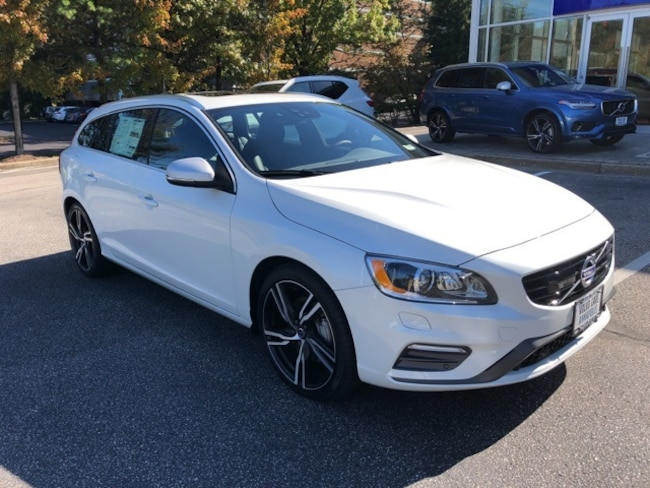 New 2017 Volvo V60 T6 AWD R-Design Platinum Wagon Annapolis, MD