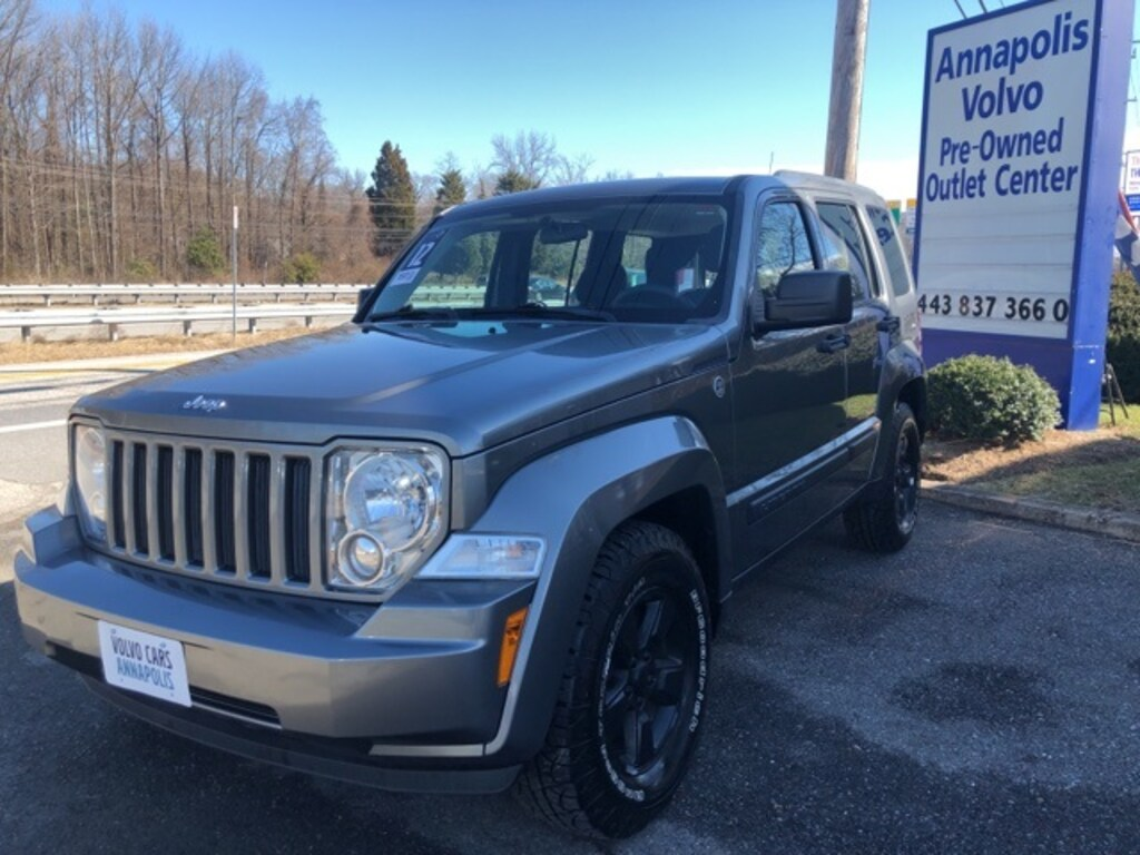 used 2012 jeep liberty for sale at volvo cars annapolis | vin