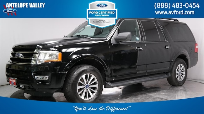 Used 2017 Ford Expedition EL XLT SUV for sale in Lancaster, CA