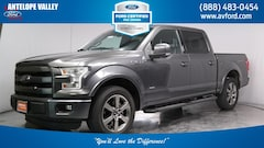 Used 2015 Ford F-150 Lariat Truck SuperCrew Cab 1FTEW1CGXFKD97703 for sale in Lancaster, CA at Antelope Valley Ford Lincoln