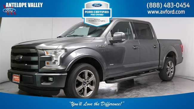 Used 2015 Ford F-150 Lariat Truck SuperCrew Cab for sale in Lancaster, CA