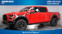 New 2018 Ford F-150 Raptor Truck SuperCrew Cab 1FTFW1RG0JFD86772 for sale in Lancaster, CA at Antelope Valley Ford Lincoln