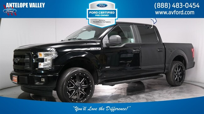 Used 2016 Ford F-150 XL Truck SuperCrew Cab for sale in Lancaster, CA