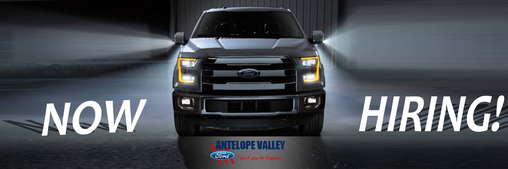 Antelope Valley Ford is now hiring for available jobs near Palmdale