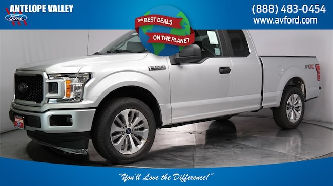 New 2018 Ford F-150 STX Truck SuperCab Styleside for sale in Lancaster, CA