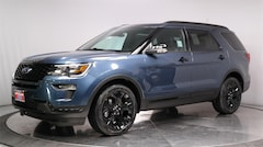 New 2019 Ford Explorer Sport SUV 1FM5K8GT1KGA73253 for sale in Lancaster, CA at Antelope Valley Ford Lincoln