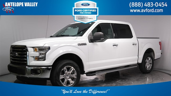 Used 2017 Ford F-150 XLT Truck SuperCrew Cab for sale in Lancaster, CA