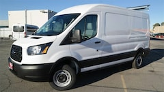 New 2019 Ford Transit-250 Base Van Medium Roof Cargo Van 1FTYR1CM8KKA70592 for sale in Lancaster, CA at Antelope Valley Ford Lincoln