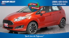 New 2018 Ford Fiesta SE Hatchback 3FADP4EJ7JM106472 for sale in Lancaster, CA at Antelope Valley Ford Lincoln
