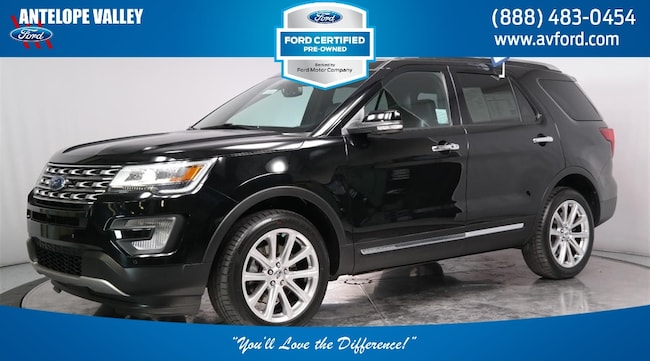 Used 2017 Ford Explorer Limited SUV for sale in Lancaster, CA