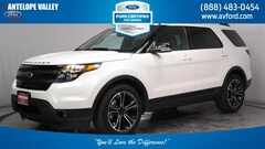 Used 2015 Ford Explorer Sport SUV 1FM5K8GT4FGB25268 for sale in Lancaster, CA at Antelope Valley Ford Lincoln