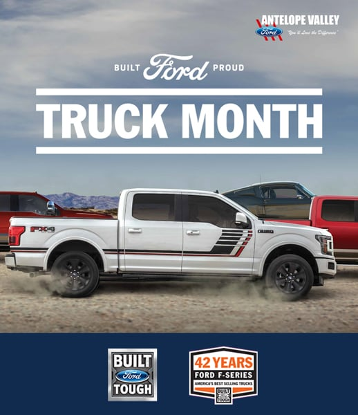 Truck Month at Antelope Valley Ford in Lancaster