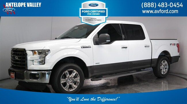 Used 2016 Ford F-150 XLT Truck SuperCrew Cab for sale in Lancaster, CA