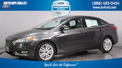 Used 2017 Ford Focus Titanium Sedan 1FADP3J22HL279854 for sale in Lancaster, CA at Antelope Valley Ford Lincoln