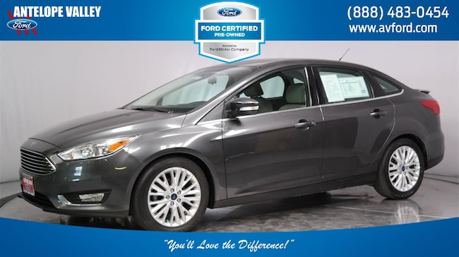 Used 2017 Ford Focus Titanium Sedan for sale in Lancaster, CA