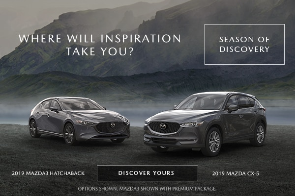 The Season of Discovery Sales Event at Antelope Valley Mazda