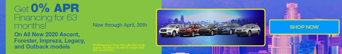 0% APR Financing For 63 Months