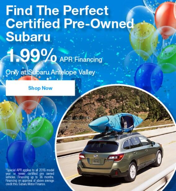 Who Owns Subaru >> Subaru Antelope Valley Subaru Used Cars Near Palmdale