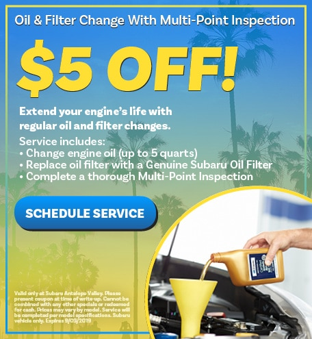 Oil & Filter Change With Multi-Point Inspection