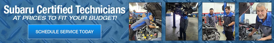 Subaru Certified Technicians At Prices To Fit Your Budget!
