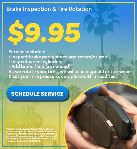 Brake Inspection & Tire Rotation