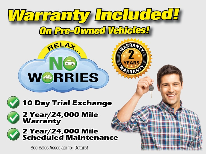 No Worries Warranty - Subaru Antelope Valley