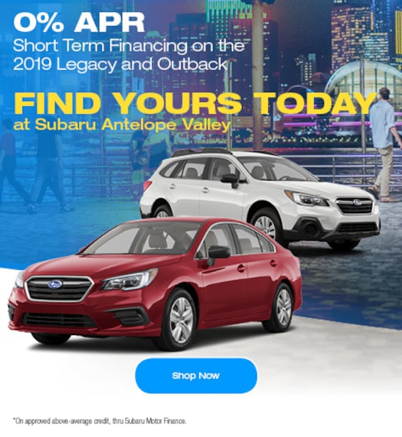 Subaru Antelope Valley | New & Used Subaru Dealer Serving